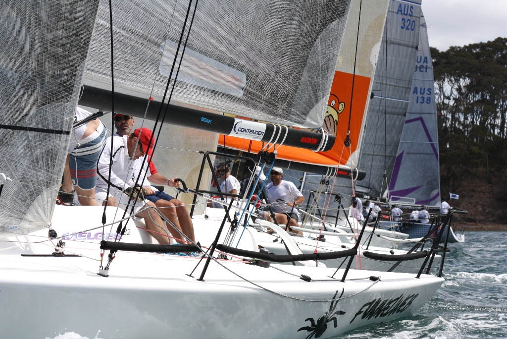 2 Unlimited Australian Melges 32 East Coast Champion  (10-11 Nov 2012)