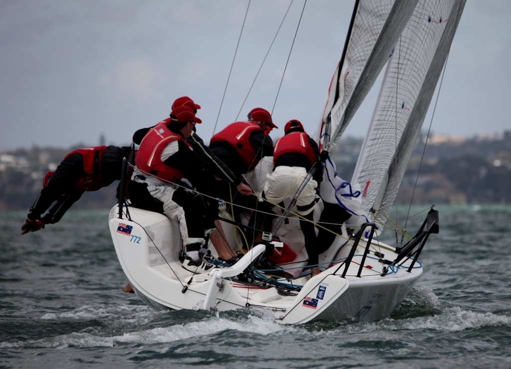 RPAYC Shipwrights Northshore Marine team win the Melges 24 Nationals