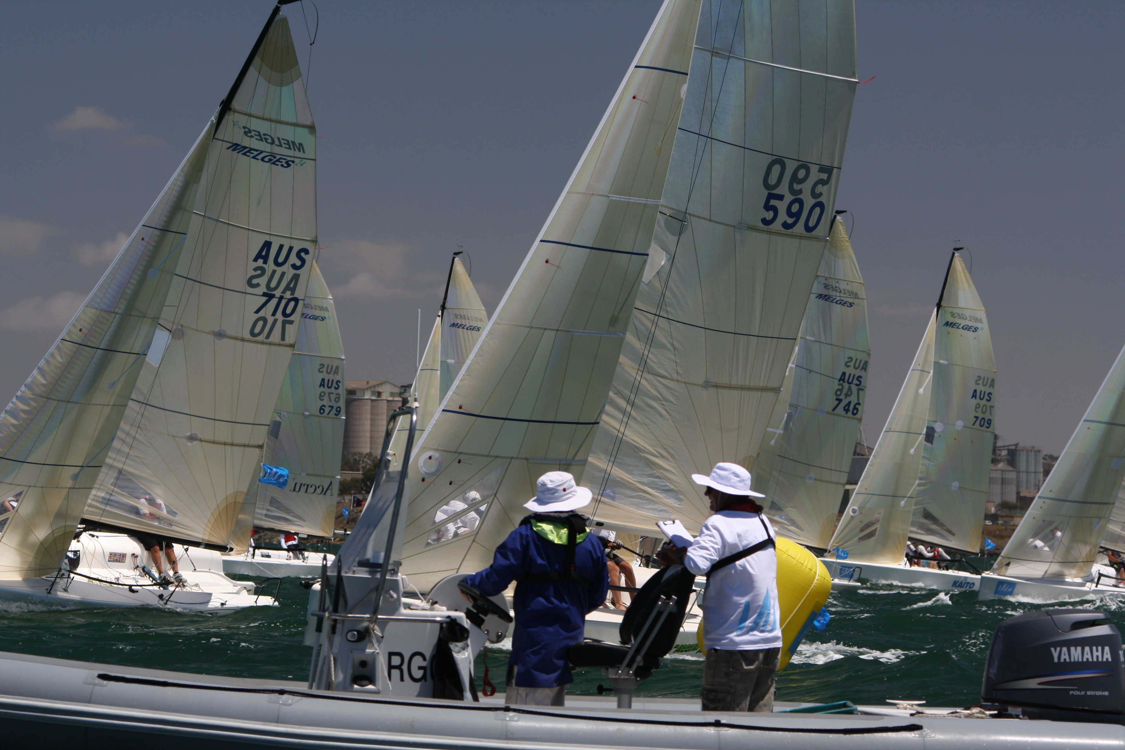 Get set of the Melges 24 Worlds, GEELONG 2014