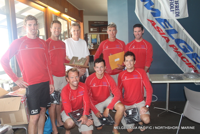 Hunn casts Voodoo magic winning the 2014 Melges 32 Australian Titles