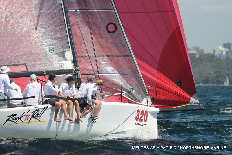 2014 Melges 32 Australian Championships, Day 2