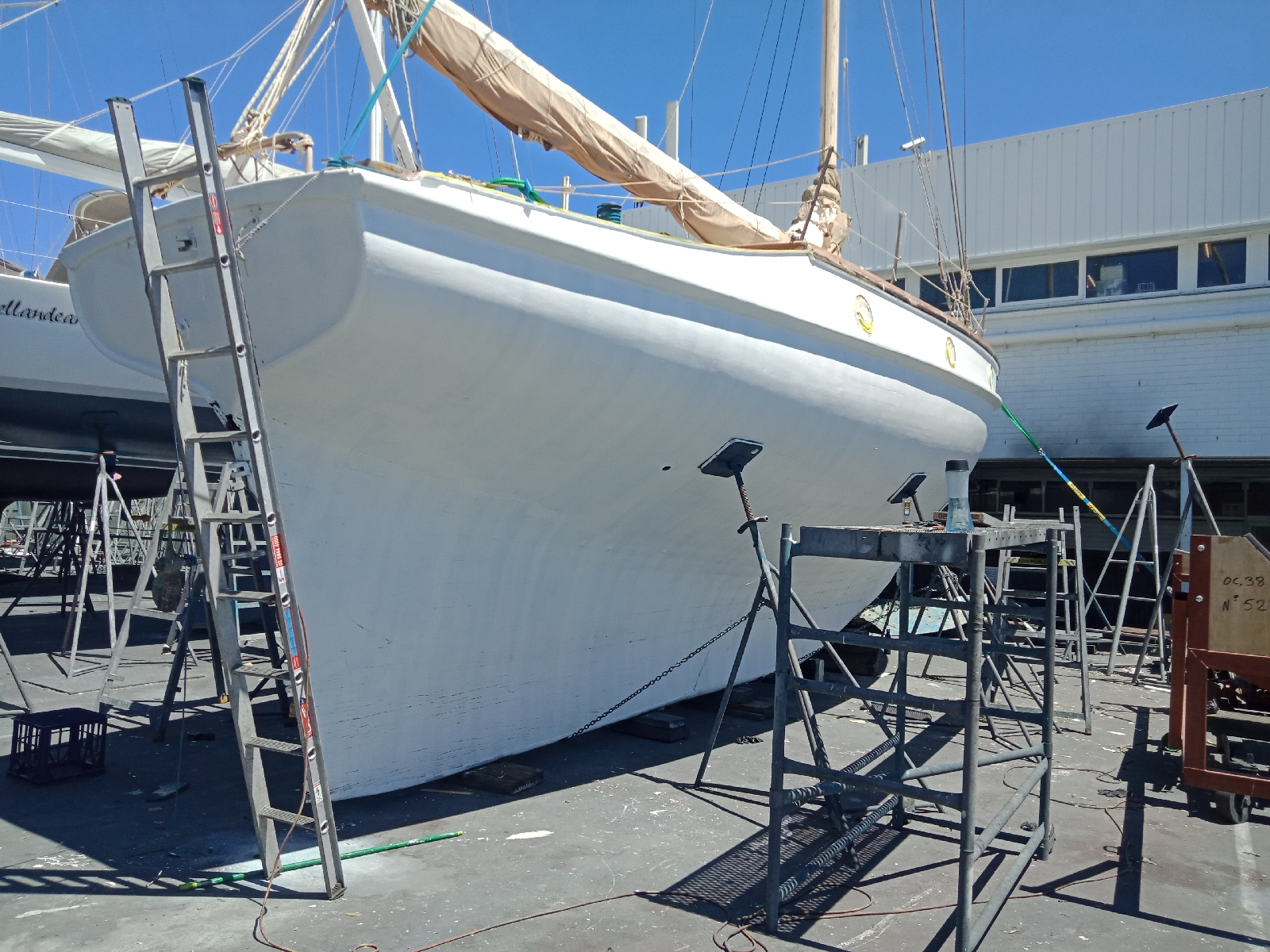 Classic Ranger Restoration  Paint and hull works